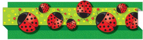 9780887242533: Ladybugs Straight Borders