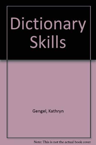 9780887244162: Dictionary Skills