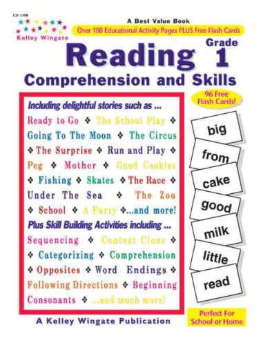 Reading Comprehension and Skills: Grade 1: Wingate, Kelley