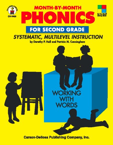 9780887244926: Month-by-Month Phonics for Second Grade: Systematic, Multilevel Instruction for Second Grade