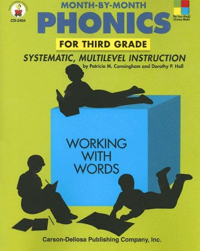9780887244933: Month-by-Month Phonics for Third Grade: Systematic, Multilevel Instruction for Third Grade