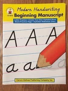 9780887245022: Modern Handwriting Beginning Manuscript