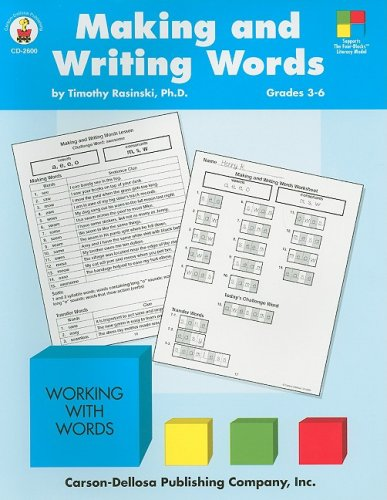 9780887245602: Making and Writing Words (Four-Blocks Literacy Model)