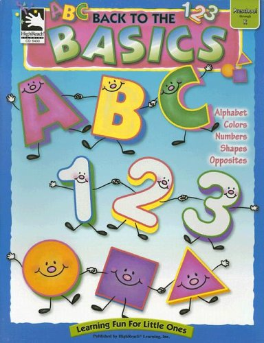 9780887245688: Back to the Basics (Learning for Little Ones)