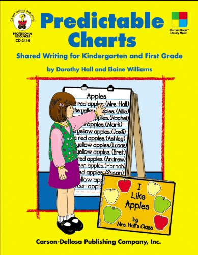 9780887246272: Predictable Charts, Grades K - 1: Shared Writing for Kindergarten and First Grade (Four-Blocks Literacy Model)