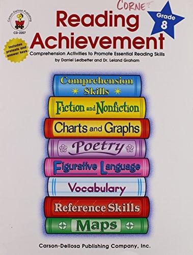 9780887246364: Reading Achievement Grade 8