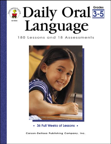 9780887246470: Daily Oral Language, Grades 3 - 5: 180 Lessons and 18 Assessments (Daily Series)