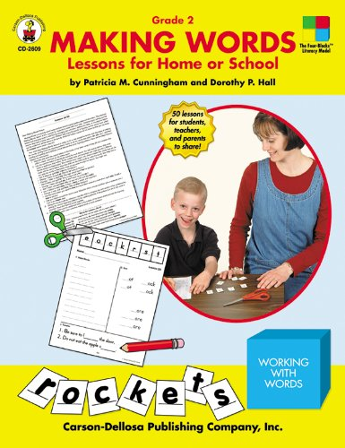 9780887246616: Making Words: Lessons for Home or School (Grade 2)