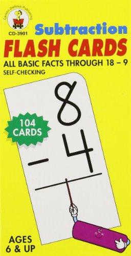 9780887246708: Subtraction Flash Cards, Grades 1 - 3