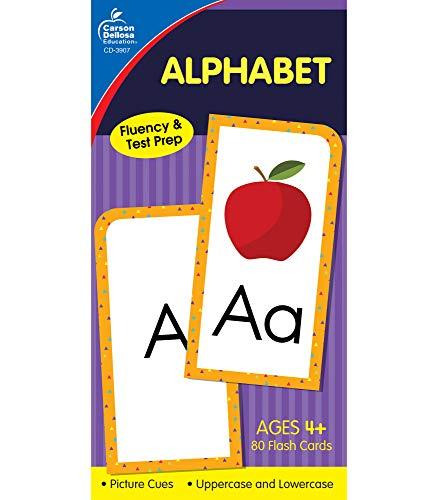 9780887246760: Alphabet Flash Cards, Ages 4 - 7