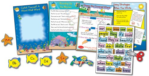 9780887246845: Word Wall Plus for Second Grade Bulletin Board Set