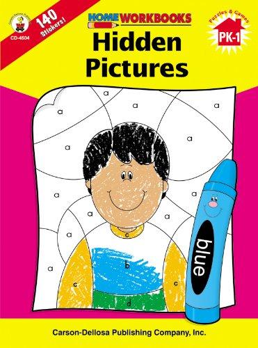 9780887247026: Hidden Pictures, Grades PK - 1 (Home Workbooks)