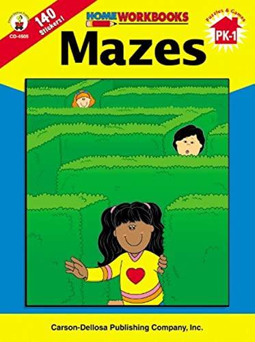 9780887247033: Mazes (Home Workbooks)