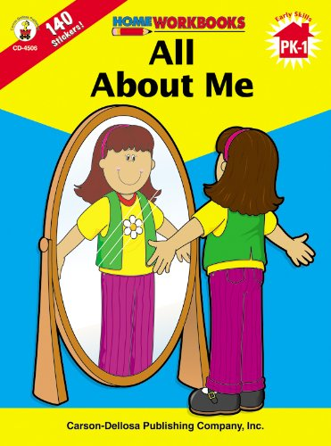 9780887247040: All About Me, Grades PK - 1 (Home Workbooks)