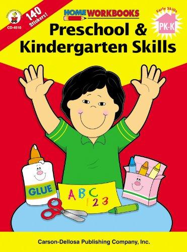 9780887247088: Preschool & Kindergarten Skills (Home Workbooks)