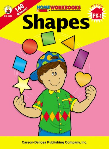 9780887247101: Shapes, Grades PK-1 (Home Workbooks)