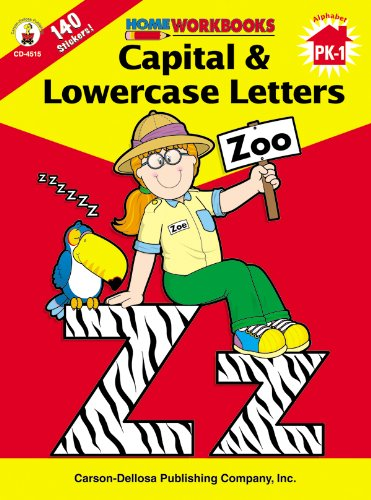9780887247132: Capital & Lowercase Letters (Home Workbooks)