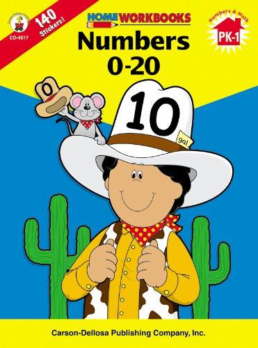 9780887247156: Numbers 0-20, Grades PK - 1 (Home Workbooks)