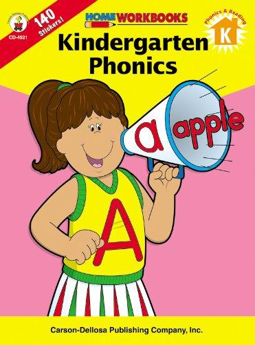9780887247194: Kindergarten Phonics, Grade K (Home Workbooks)