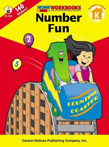 9780887247217: Number Fun, Grade K (Home Workbooks)