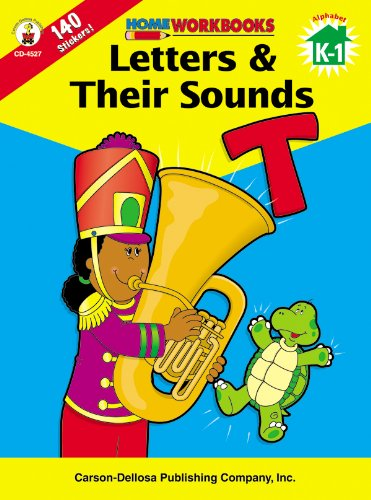 9780887247255: Letters & Their Sounds, Grades K - 1 (Home Workbooks)