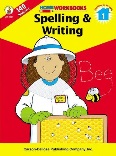 9780887247323: Spelling & Writing, Grade 1 (Home Workbooks)