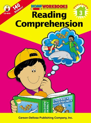 9780887247439: Reading Comprehension, Grade 3 (Home Workbooks)