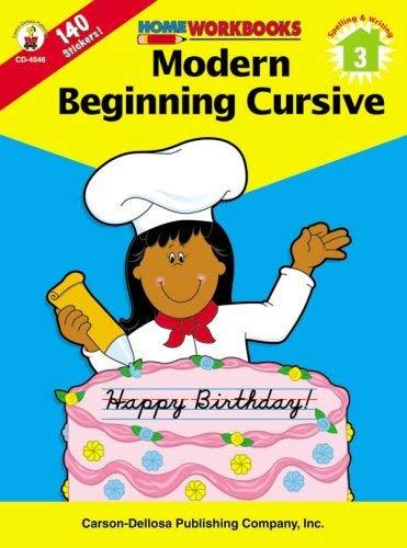 Modern Beginning Cursive (Home Workbooks/Spelling & Writing)
