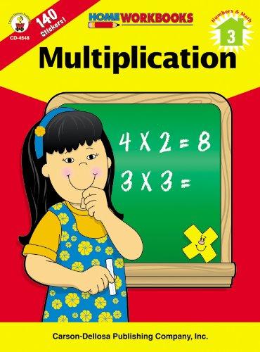 9780887247460: Multiplication, Grade 3 (Home Workbooks)