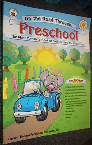 9780887247484: On the Road Through Preschool: The Most Complete Book of Skill Review for Preschool
