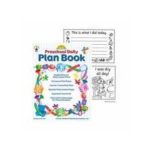9780887247545: Preschool Daily Plan Book