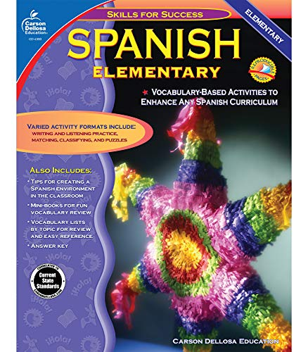 9780887247576: Spanish, Grades K - 5: Elementary (Skills for Success)