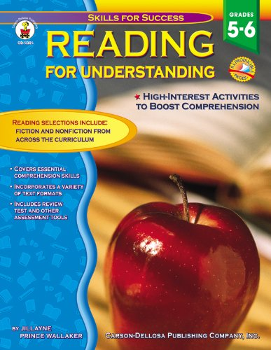 9780887247613: Reading for Understanding, Grades 5 - 6: High Interest Activities to Boost Comprehension (Skills for Success)