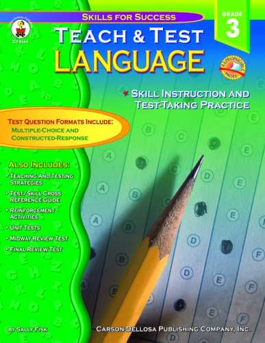 Teach & Test Language Grade 3: Sally Fisk