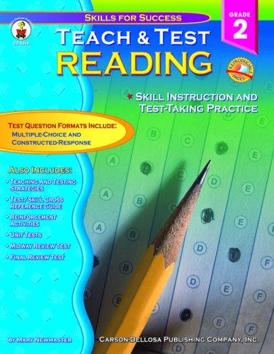 Teach & Test Reading Grade 2: Skills: Molengraft, Lisa