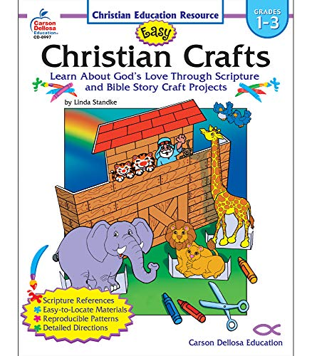 9780887247958: Easy Christian Crafts, Grades 1 - 3: Learn About God's Love Through Scripture and Bible Story Craft Projects