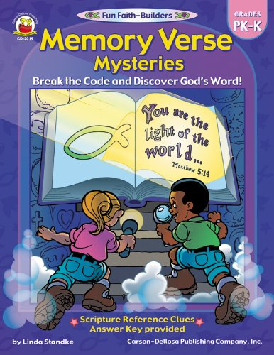 9780887247972: Memory Verse Mysteries, Grades PK - K: Break the Code and Discover God's Word (Fun Faith-Builders)
