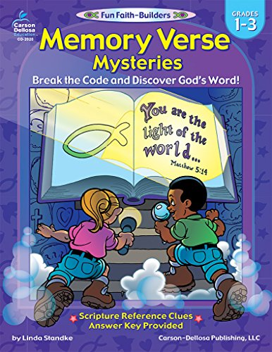 9780887247989: Memory Verse Mysteries, Grades 1 - 3: Break the Code and Discover God's Word (Fun Faith-Builders)