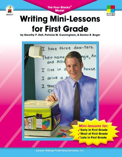 9780887248139: Writing Mini-Lessons for First Grade: The Four-Blocks® Model (Four-Blocks Literacy Model)