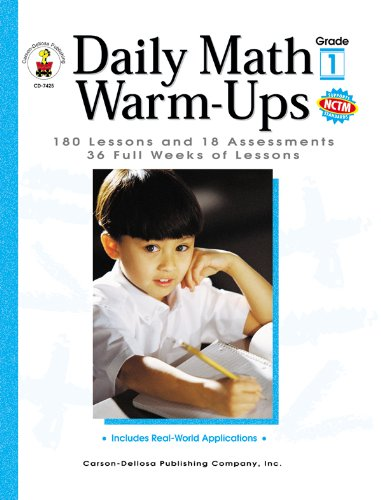 Daily Math Warm-Ups : 180 Lessons and: Melissa Owens