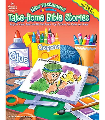 9780887248726: New Testament Take-Home Bible Stories, Grades Preschool - 2: Easy-to-Make, Reproducible Mini-Books That Children Can Make and Keep