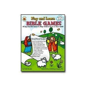 Play & Learn Bible Games: Carson Dellosa Publishing Company