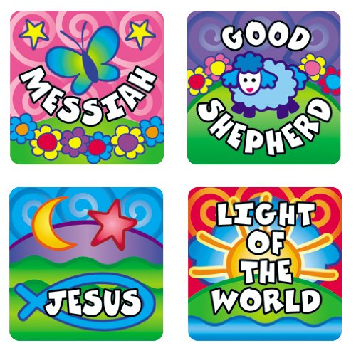9780887248993: Names of God Sticker Pack (Scripture Stickers)