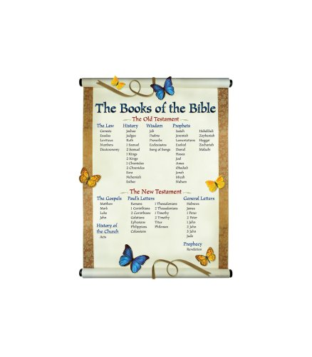 9780887249075: The Books of the Bible Chartlet
