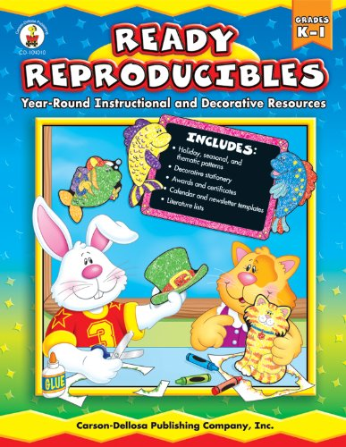 9780887249174: Ready Reproducibles, Grades K-1: Year-Round Instructional and Decorative Resources