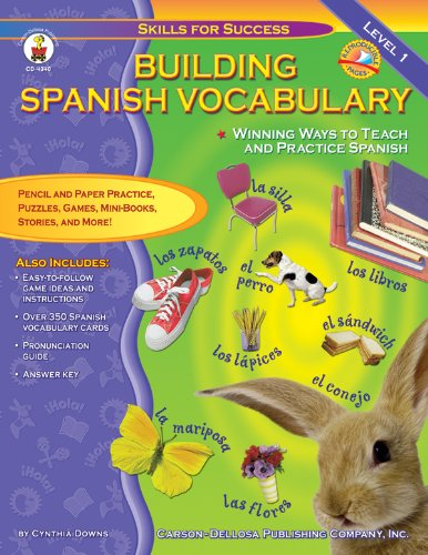 9780887249181: Building Spanish Vocabulary: Winning Ways to Teach and Practice Spanish (Level 1) (Skills for Success)
