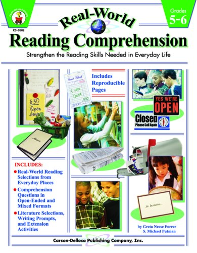 9780887249471: Real-World Reading Comprehension Grades 5-6