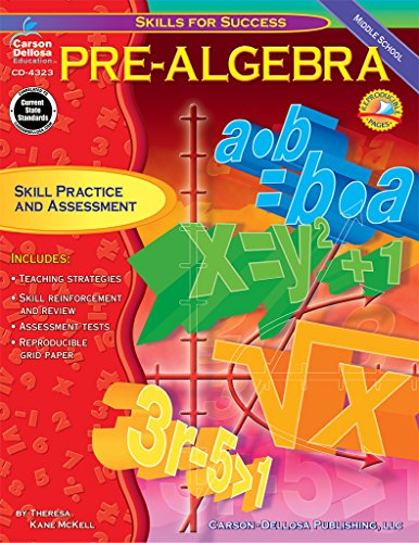 9780887249525: Pre-Algebra: Skill Practice and Assessment for Middle School (Skills for Success Series)