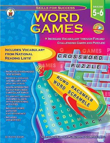 9780887249570: Word Games Grades 5-6