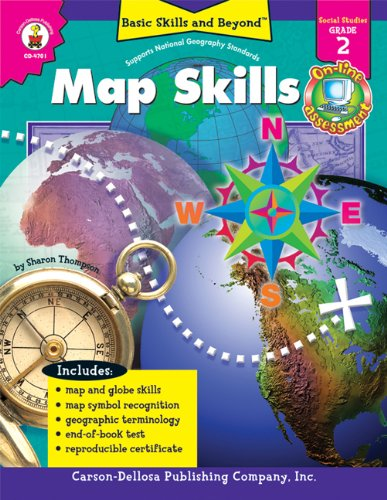9780887249600: Map Skills, Grade 2 (Basic Skills & Beyond)